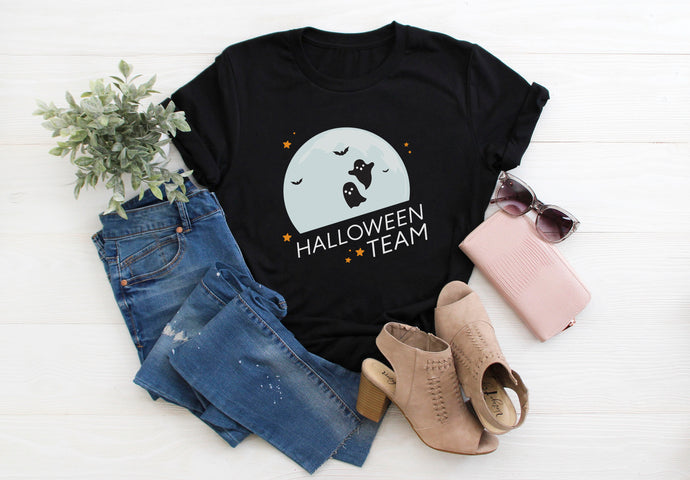 Halloween Team Short-Sleeve Unisex T-Shirt - Next Stop Main Street