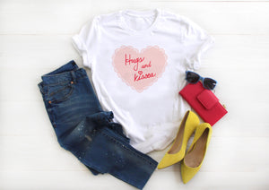 Hugs and Kisses from Minnie Short-Sleeve Unisex T-Shirt (more colors available) - Next Stop Main Street