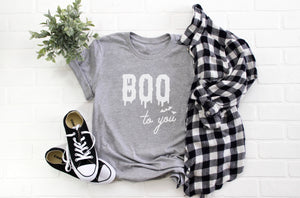 Halloween Boo to You Bats Unisex T-Shirt (more colors available)