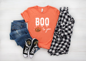 Halloween Boo to You Slime T-Shirt (more colors available)