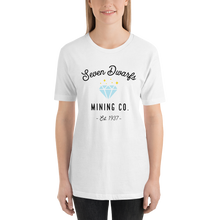 Load image into Gallery viewer, Seven Dwarfs Mining Co Short-Sleeve Unisex T-Shirt (more colors available) - Next Stop Main Street