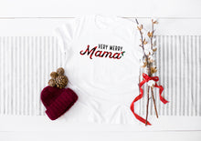 Load image into Gallery viewer, Christmas Very Merry Mama Light Short-Sleeve Unisex T-Shirt (more colors available)