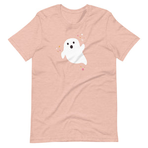 Halloween Ghost Unisex T-Shirt (more colors available)