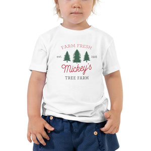 Christmas Mickey's Tree Farm TODDLER Short Sleeve Tee - Next Stop Main Street