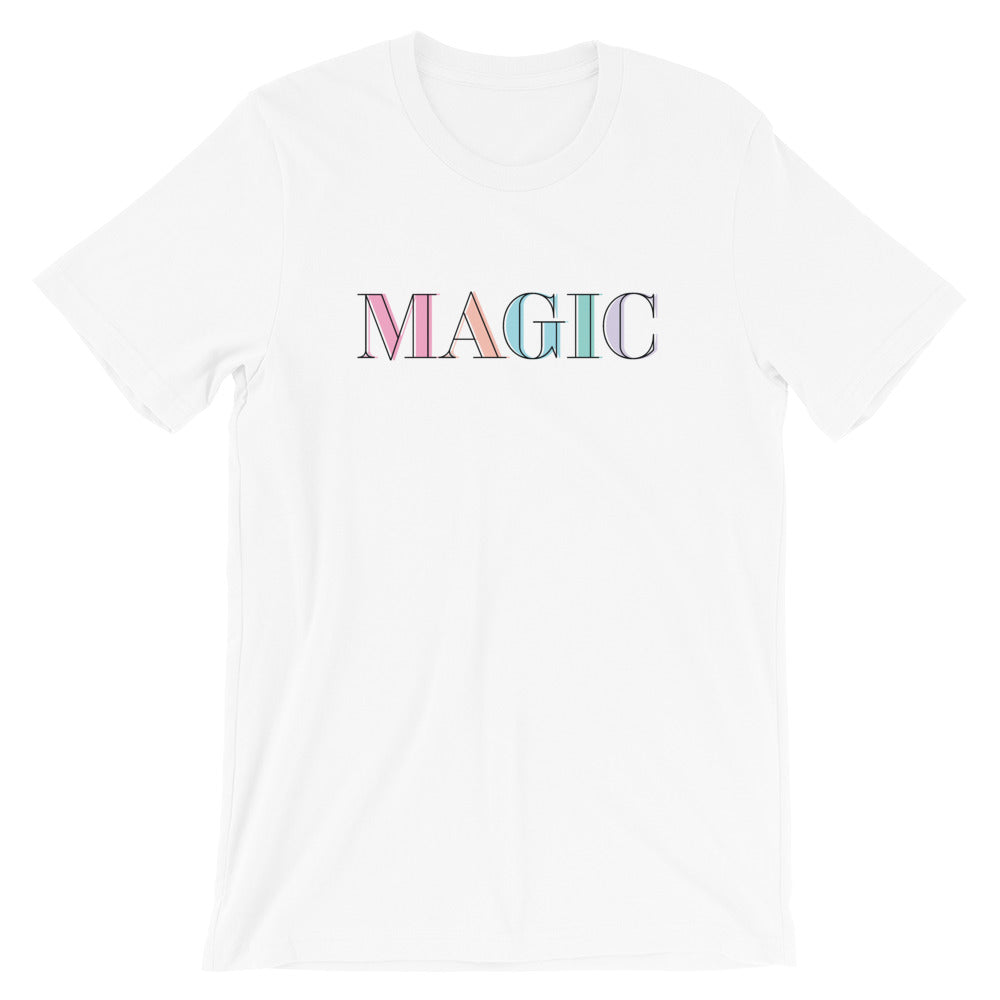 Magic - Colorful Short-Sleeve Unisex T-Shirt - Next Stop Main Street