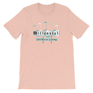 Childless Millennial Colored T-Shirt - Next Stop Main Street