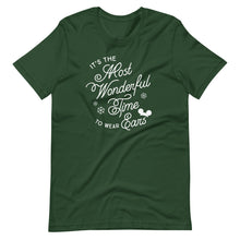 Load image into Gallery viewer, Christmas It's the Most Wonderful Time to Wear Ears T-Shirt (more colors available)