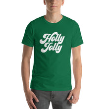 Load image into Gallery viewer, Christmas 70s Holly Jolly Short-Sleeve Unisex T-Shirt