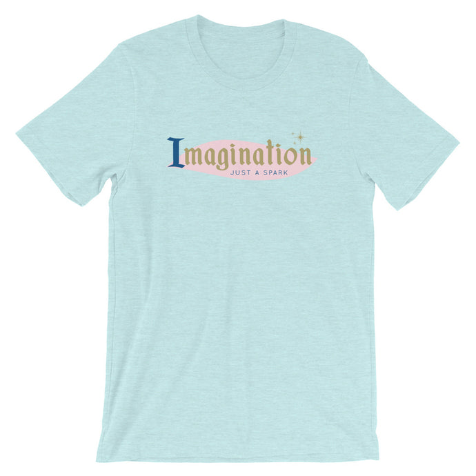 Imagination - Just a Spark Short-Sleeve Unisex T-Shirt - Next Stop Main Street