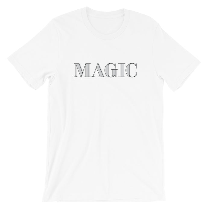 Magic - Gray Short-Sleeve Unisex T-Shirt - Next Stop Main Street