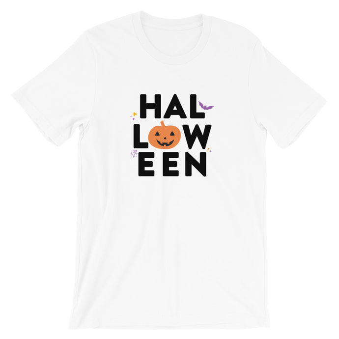 Halloween Pumpkin Short-Sleeve Unisex T-Shirt - Next Stop Main Street