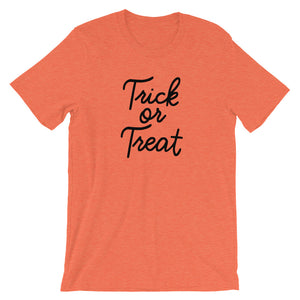 Halloween Trick or Treat Short-Sleeve Unisex T-Shirt - Next Stop Main Street