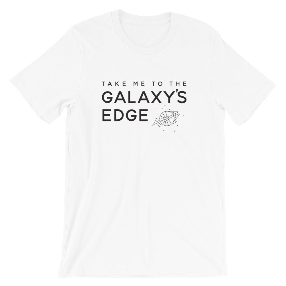 Galaxy's Edge Star Wars Land Short-Sleeve Unisex T-Shirt - Next Stop Main Street