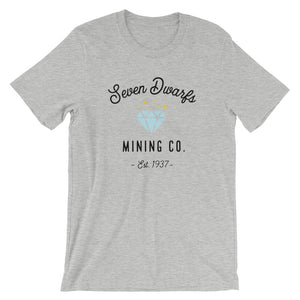 Seven Dwarfs Mining Co. Short-Sleeve Unisex T-Shirt (more colors available) - Next Stop Main Street