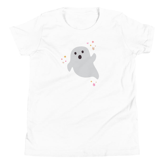 Halloween Ghost YOUTH Short Sleeve T-Shirt