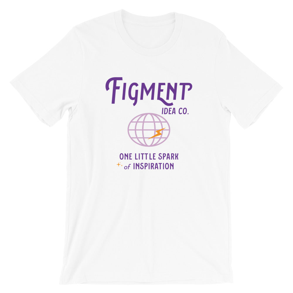 Figment Idea Co. Short-Sleeve Unisex T-Shirt (other colors available) - Next Stop Main Street