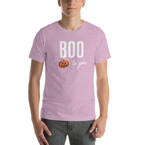 Halloween Boo to You Pumpkin T-Shirt (more colors available)