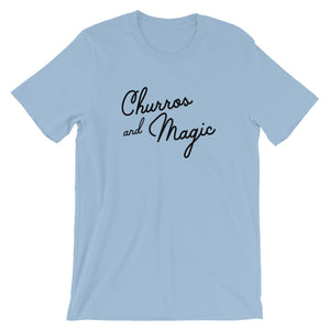 Churros and Magic Short-Sleeve Unisex T-Shirt (more colors available) - Next Stop Main Street
