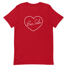 Load image into Gallery viewer, Ben Solo Heart Short-Sleeve Unisex T-Shirt