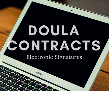 Doula Contracts: Electronic Signatures