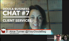 Doula Business Chat Session 7 Client Services