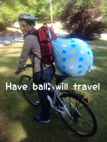 Have Ball, Will Travel - Doulas are ready!