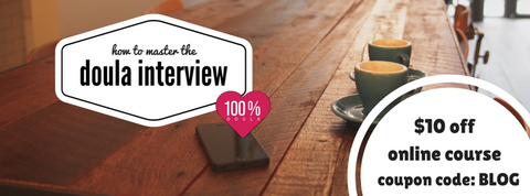 doula interview coupon code