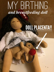 Birthing and Breastfeeding Doll