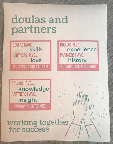 Doula and Partners Working Together Handout