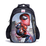 Sac à dos à l'effigie du Super Heros Spider-Man Acrobatique