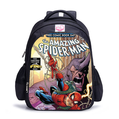 Sac à dos à l'effigie du Super Heros Spider-Man Comics