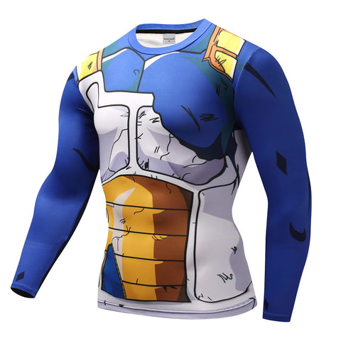 Tee shirt muscu Dragon Ball Z Vegeta Combat