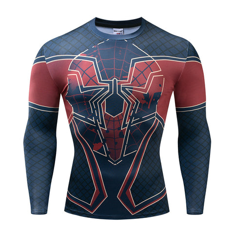 T-shirt musculation à l'effigie de Spider-Man