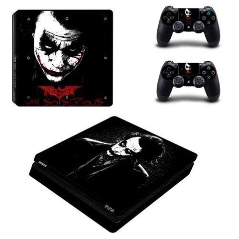 Stickers ps4 DC Comics à l'effigie du Super Heros DC Comics The Joker