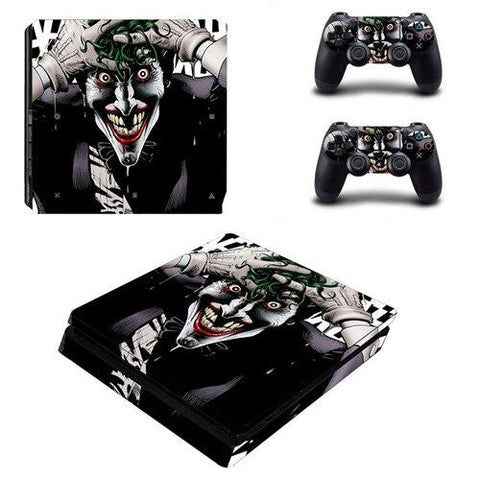 Stickers ps4 DC Comics à l'effigie du Super Heros Comics The Joker