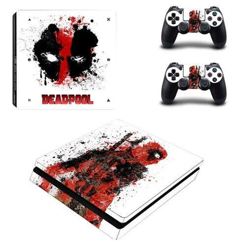 Stickers ps4 Marvel à l'effigie du Super Heros Comics Marvel Deadpool