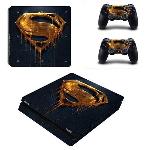 Stickers ps4 DC Comics à l'effigie du Super Heros Comics Superman