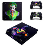 Stickers ps4 DC Comics à l'effigie du Super Heros DC Batman vs The Joker