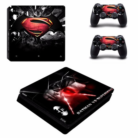 Stickers ps4 DC Comics à l'effigie du Super Heros DC Batman vs Superman