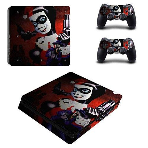Stickers ps4 DC Comics à l'effigie du Super Heros Harley Quinn