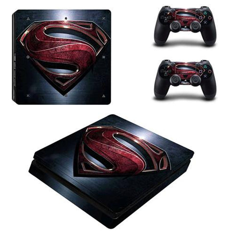 Stickers ps4 DC Comics à l'effigie du Super Heros Man of Steel