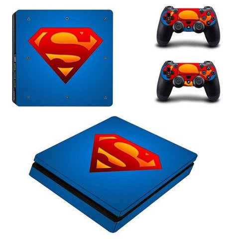 Stickers ps4 DC Comics à l'effigie du Super Heros Superman All Star