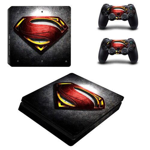 Stickers ps4 DC Comics à l'effigie du Super Heros DC Comics Superman Legends
