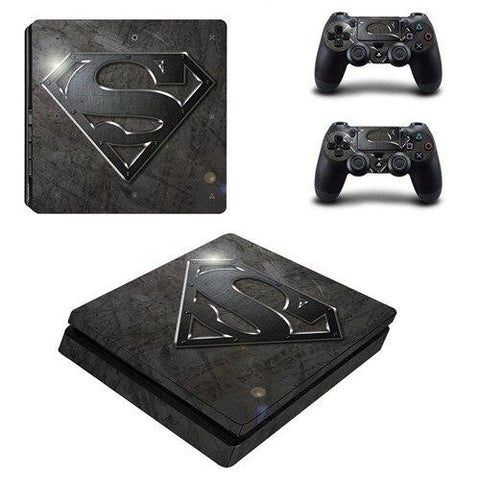 Stickers ps4 DC Comics à l'effigie du Super Heros DC Comics Superman Origins
