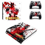 Stickers ps4 Marvel à l'effigie du Super Heros Deadpool Marvel