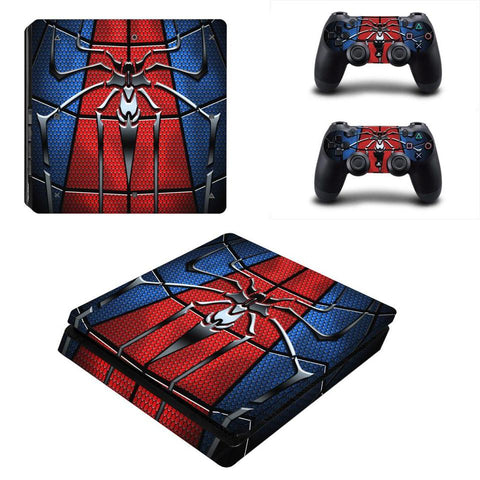 Stickers ps4 Marvel à l'effigie du Super Heros Marvel Amazing Spiderman