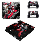 Stickers ps4 Marvel à l'effigie du Super Heros Marvel Comics Deadpool