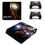 Stickers ps4 Marvel à l'effigie du Super Heros Marvel Iron Man