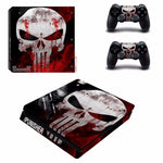 Stickers ps4 Marvel à l'effigie du Super Heros Marvel The Punisher