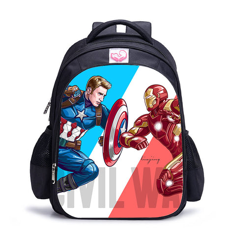 Sac à dos à l'effigie du Super Heros Avengers Civil War